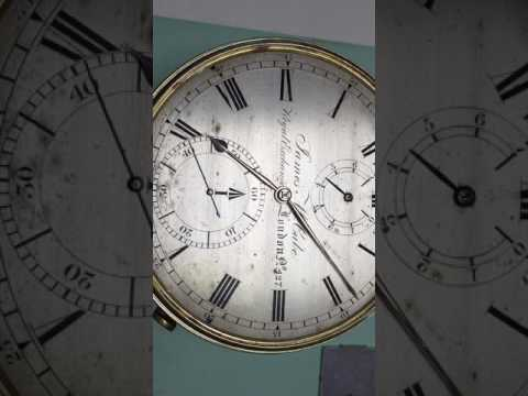 Beautiful Antique 8-Day English Marine Chronometer - El Cronometrista