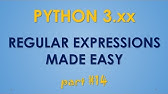 Python Tutorial: re Module - How to Write and Match Regular
