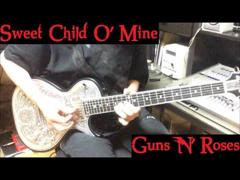 sweet child o 39 mine guns n 39 roses guitar cover youtube. Black Bedroom Furniture Sets. Home Design Ideas