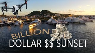 Billion $$ Super-Yacht Sunset ~ Steve Jobs' Yacht VENUS ~ WeBeYachting.com