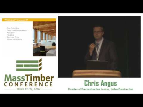 Feasibility of Cross-Laminated Timber — Chris Angus