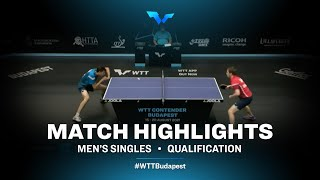 Aleksandr Tiutriumov vs Jakub Zelinka | WTT Contender Budapest 2021 (Qual)