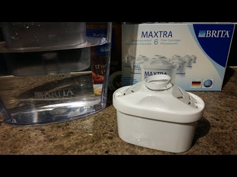 How to change a Brita Filter - Maxtra Filter