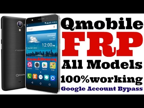 Qmobile S1,S2,S3,S4,S6,S9,i6i,M350 Frp,google account bypass,without box