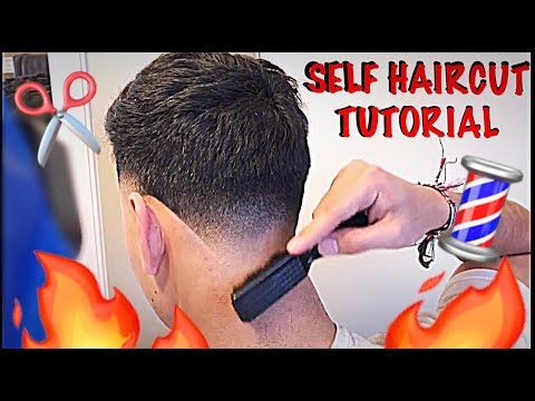SELF HAIRCUT TUTORIAL || HOW TO CUT YOUR OWN HAIR || EASY STEP BY STEP ||HD