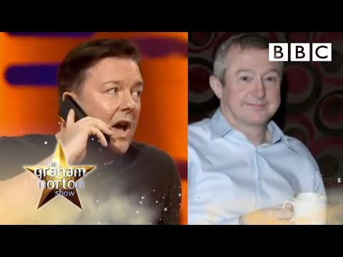 X  Factor Celebrity Spat! Ricky Gervais Calls Louis Walsh - The Graham Norton Show - BBC Two
