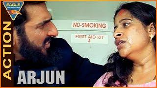 Arjun Movie || Mukesh Rishi Entrance Action Scene || Balakrishna,Laya || Eagle Hindi Movies