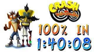 Crash Twinsanity 100% Speedrun in 1:40:08