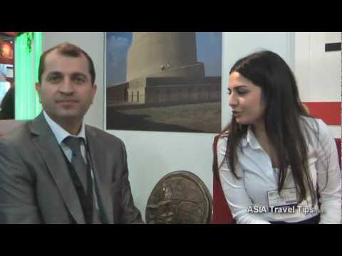 Iraq Tourism Interview with Fadhil Al-Saaegh @ WTM 2011 - HD