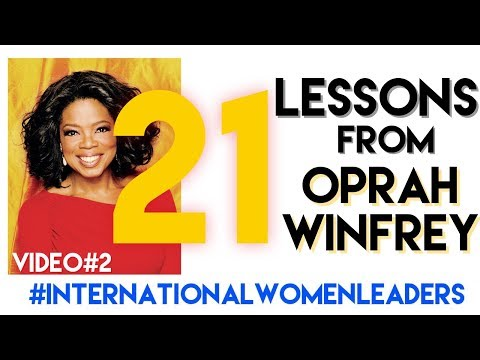 Oprah Winfrey - 21 Lessons - Video#2
