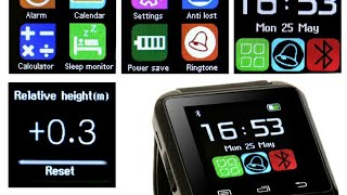 U8 Smart watch firmware fix