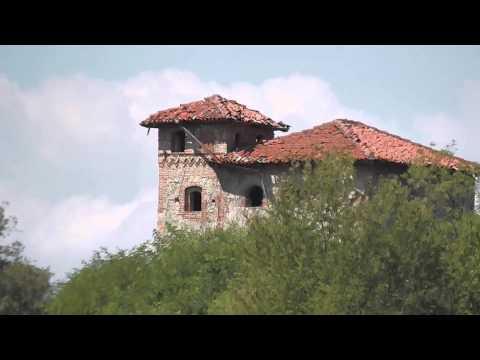 Il primo castello di Azeglio risalente al 1100 circa