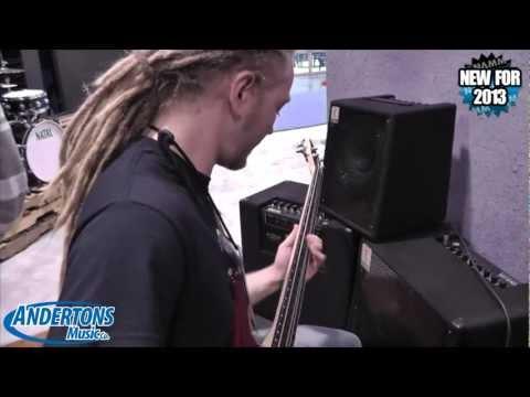 Andertons @ NAMM 2013 - Eden Bass Amps