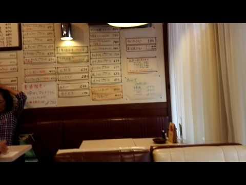 """浅草の喫茶店「マリーナ」のモーニングセット Breakfast Menu at Cafe """"Marina"""", Asakusa, Tokyo, JAPAN"""