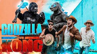 GODZILLA VS KONG EN LA VIDA REAL! (PARODIA) - Changovisión