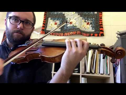 #92 violin: Simple Gifts