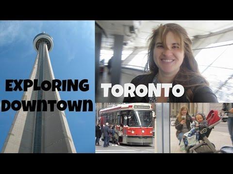 CN TOWER | DOWNTOWN TORONTO and Ripley's Aquarium of Canada Vlog