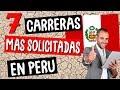 Top 7 Carreras PROFESIONALES en PERÚ Más Rentables y Demandas 2019
