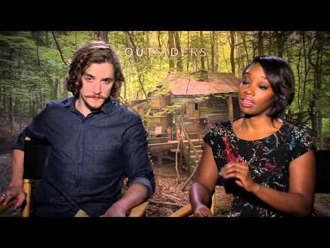 Exclusive: WGN's Outsiders Kyle Gallner and Christina Jackson Talk About their Forbidden Love