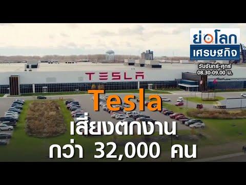 Tesla หั่นราคารถในตลาดจีน  I ย่อโลกเศรษฐกิจ I 2-10-63