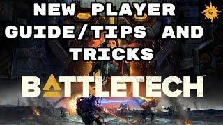BattleTech - Newbie Tips and Tricks Guide - A Walk through of your first steps as a Mechcommander