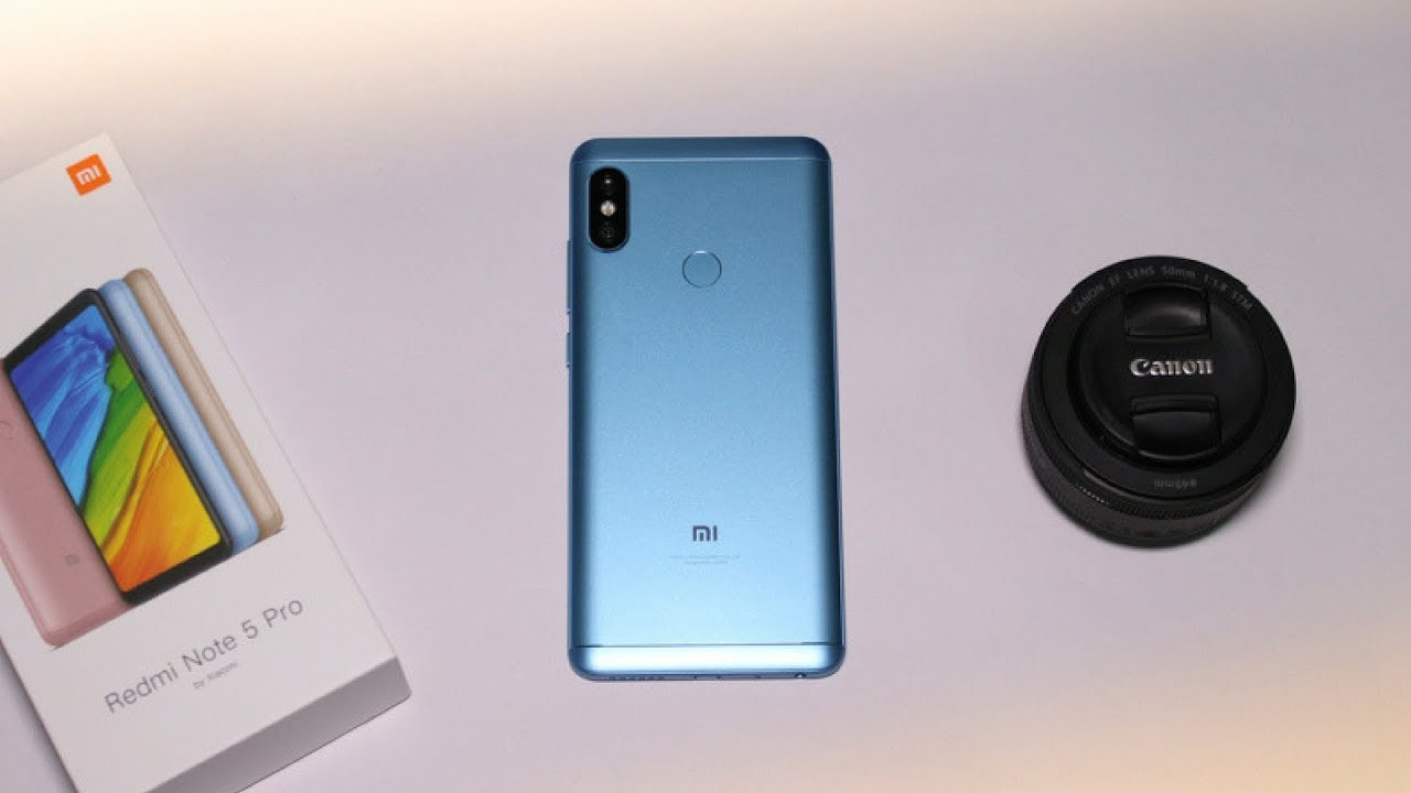 Redmi Note 5 Pro Lake Blue Colour Unboxing Giveaway Youtube