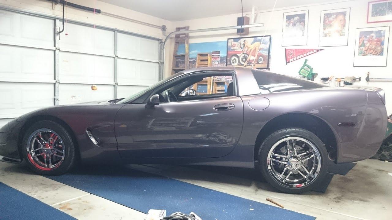 1998 C5 Corvette Suspension Cleaning