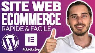 Site E-Commerce 2019 : Rapide, Facile & Pas Cher avec Wordpress, Woocommerce et Elementor