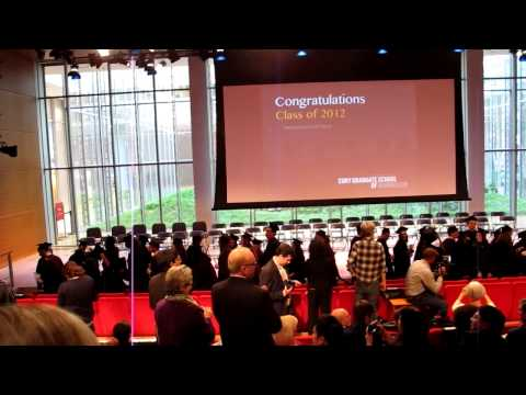CUNY Graduate School of Journalism - 6th Commencement