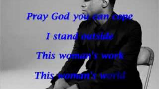 Repeat youtube video This Woman's Work by Maxwell with lyrics