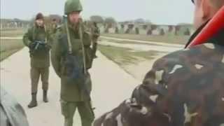 ВСТРЕЧА Российских военных и украинцев