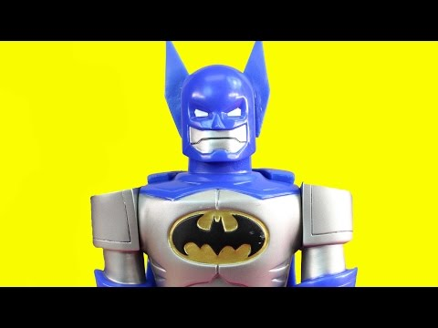 Imaginext Joker Builds Replica Batman Robot To Destroy Gotham City Batbot Saves The Day