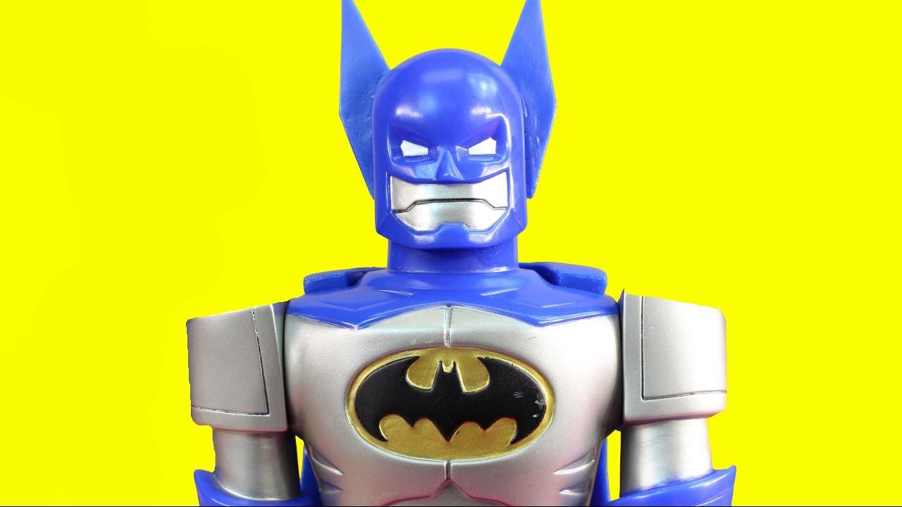 imaginext joker builds replica batman robot to destroy. Black Bedroom Furniture Sets. Home Design Ideas