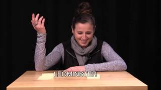 Zoe Tries to Pronounce Massachusetts Town Names