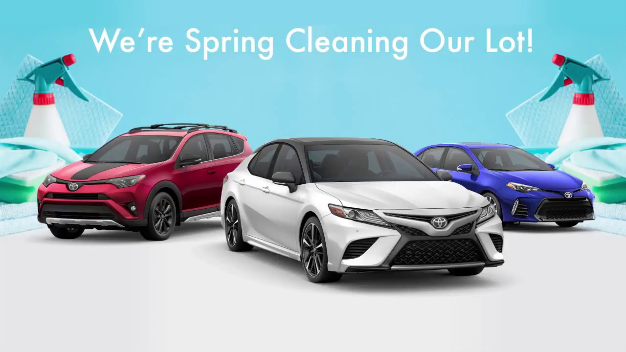 Awesome Fitzgerald Toyota Gaithersburg   Spring Cleaning Event