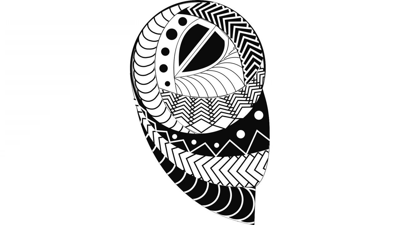 Sina Shop Maori 3 Polinesische Vorlagen
