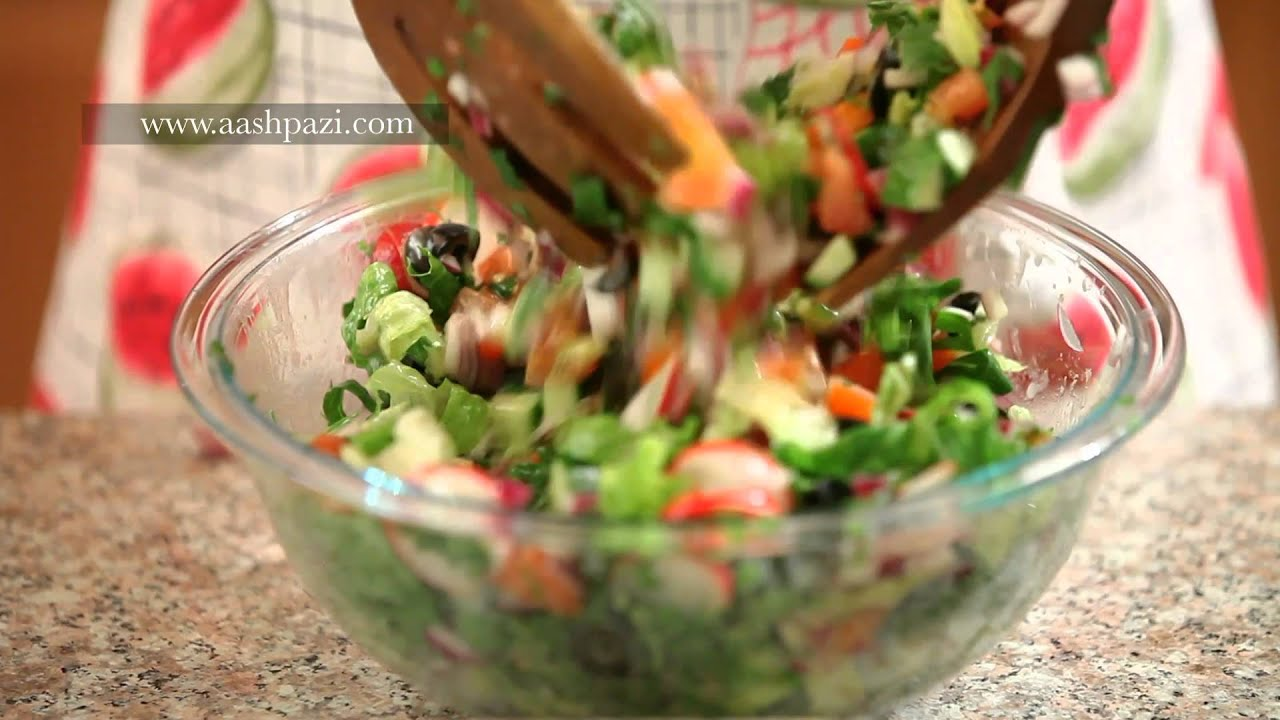 Fattoush salad healthy salad recipe youtube forumfinder Choice Image