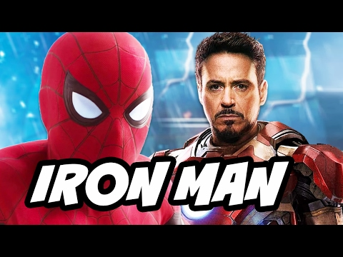 Spider Man Homecoming Iron Man New Armor Explained and Every Iron Man Armor