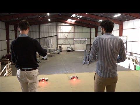 Double Fun avec Double drone Parrot & Pulsit !