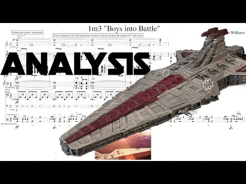 """Star Wars: """"Battle Over Coruscant"""" by John Williams (Score Reduction and Analysis)"""