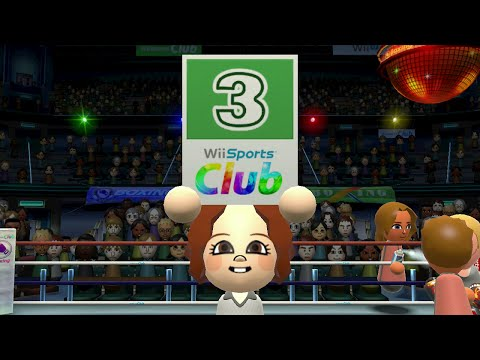 Wii Sports Club - Boxing Champion Match - Pit