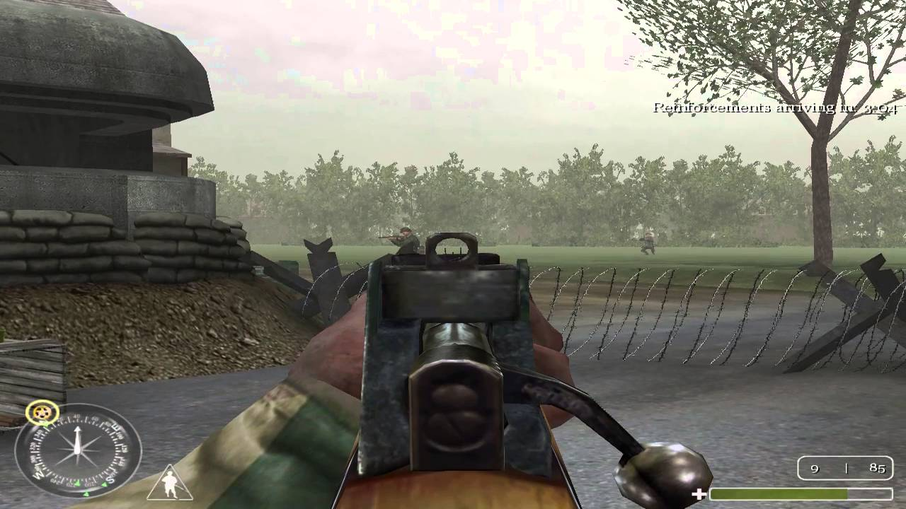 "Call of Duty 1 Gameplay Walkthrough - 10 ""Benouville Day"" [HD / 60 ..."