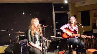 strong as an oak watsky cover by kara and courtney