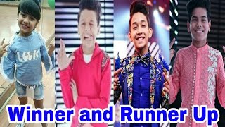 Super Dancer Chapter 2 Winner and Runner Up 1st, 2nd and 3rd | 2018 ||[YES INDIA]