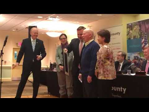 Jerry Cabnet Camden County Board Of Freeholders Recognition