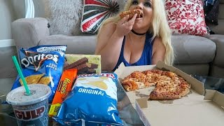 MY FAVORITE JUNK FOOD MUKBANG (EATING SHOW) | WATCH ME EAT!