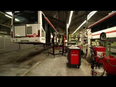 Présentation des dépôts de bus, tram et métro