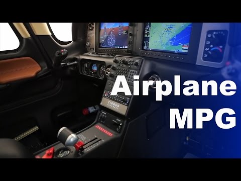 How Fuel Efficient are Airplanes? | MPG
