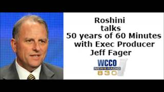 Roshini talks 50 years of 60 Minutes with Exec Producer Jeff Fager
