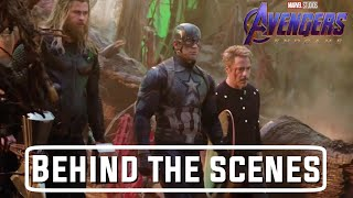 Avengers:Endgame | Inside Look Avengers | Behind the scenes & Bloopers | Ultra  HD | By Az Gamer |
